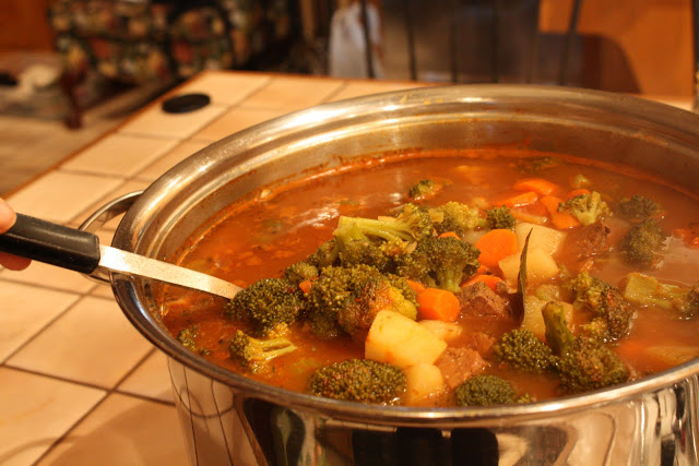 How To Make Vegetable Beef Soup Recipe Wendys Hat