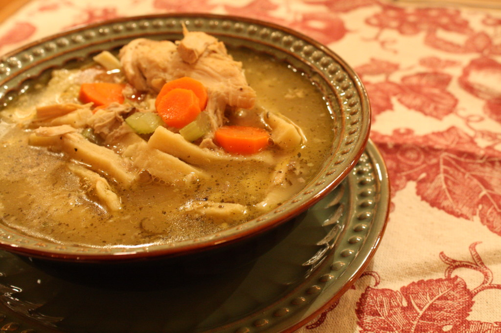 How to make homemade chicken noodle soup for How to make homemade chicken noodle soup