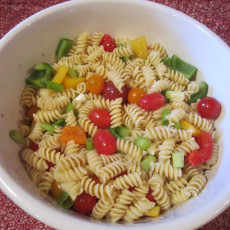 How to Make a Cold Pasta Salad {Recipe}