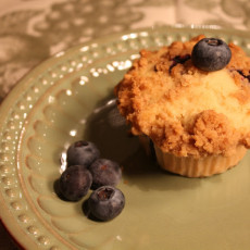 How to Make Blueberry Muffins {Recipe}