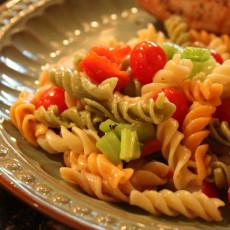 Easy Pasta Salad {Recipe}