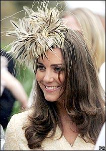 Kate Middleton wearing a Fascinator via Cupcake MAG 2367198b579