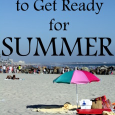 Top Ten Tips to Get Ready for Summer