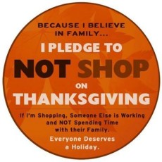 Boycott Shopping on Thanksgiving – Why You Should