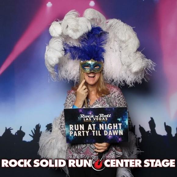 Rock n Roll Marathon Showgirl