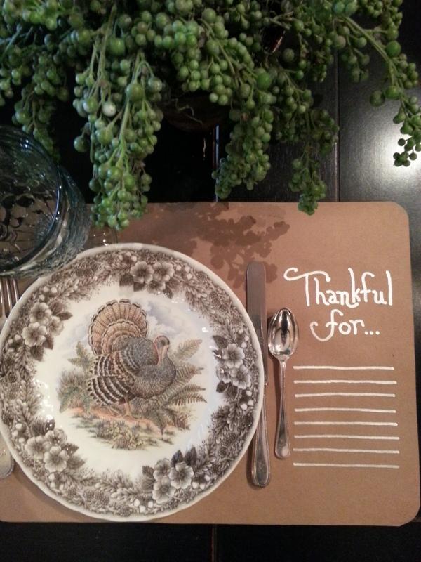 Thanksgiving Placemat