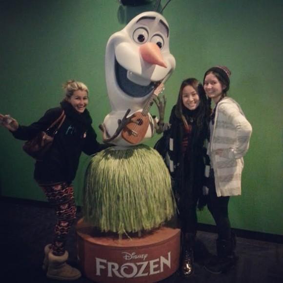 Disney Frozen the movie