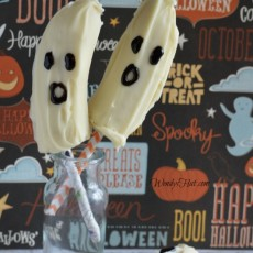 Halloween Banana Ghosts