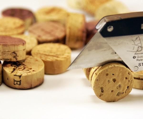 Wine Cork Napkin Ring step 2