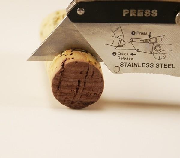 Wine Cork Napkin Rings step 1