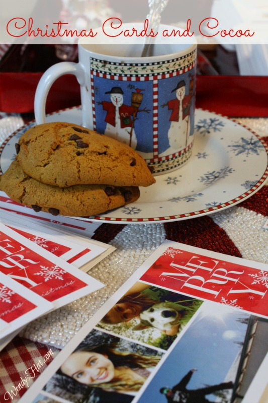 Christmas Cards and Cocoa