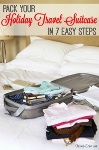 How to Pack Your Holiday Travel Suitcase in 7 Easy Steps