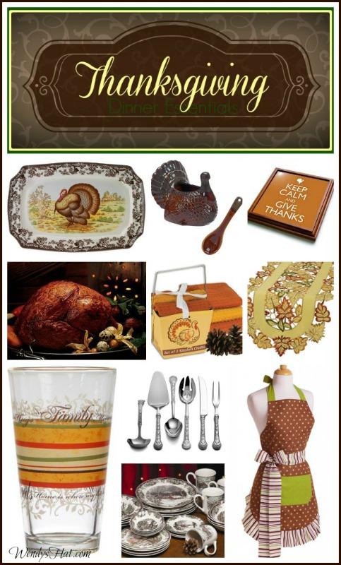 My list of Thanksgiving Dinner Essentials