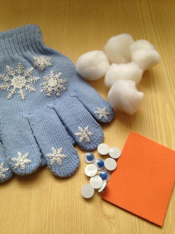 5 Little Snowmen Fingerplay