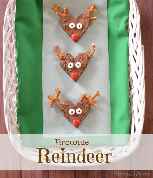 Brownie Reindeer