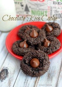 Chocolate Kiss Cookie