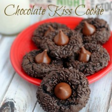 Chocolate Kiss Cookie