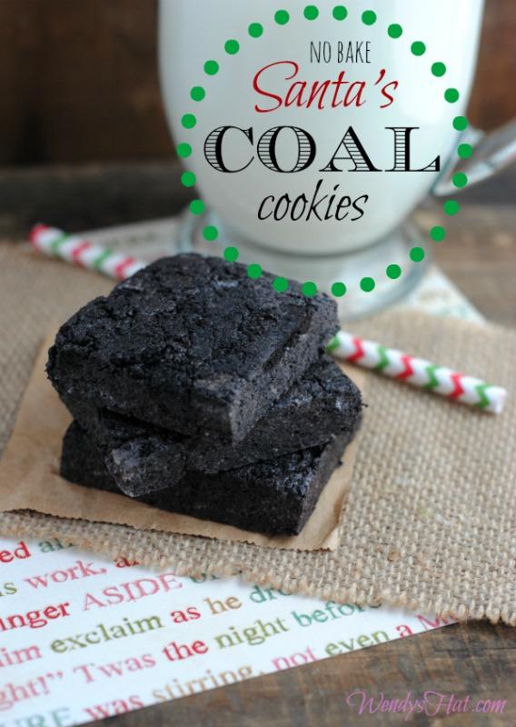 Santa's Coal Cookies