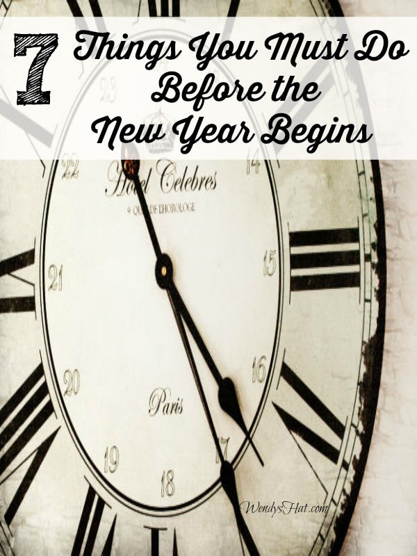 Things You Must Do Before The New Year Begins
