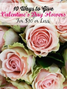 Valentines Day Flowers on a Budget