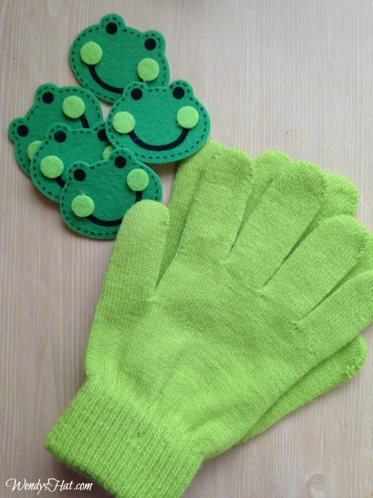 Five Little Frogs Finger Play