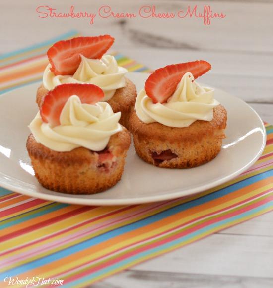 Strawberry Cream Cheese Muffins Recipe Strawberry Cream Cheese Muffin