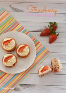 Strawberry Cream Cheese Muffin Recipe