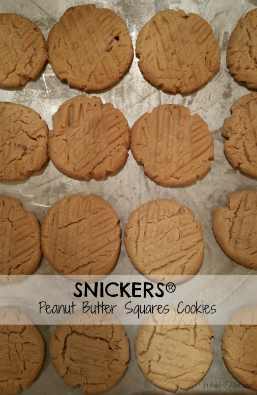 SNICKERS Peanut Butter Squares Cookies