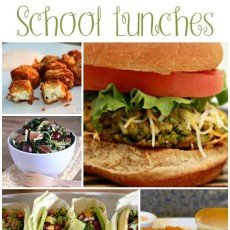 Vegetarian Scool Lunches. Lots of great ideas in one place!