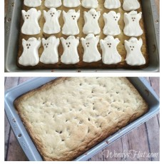 Ghost Cookie Bars