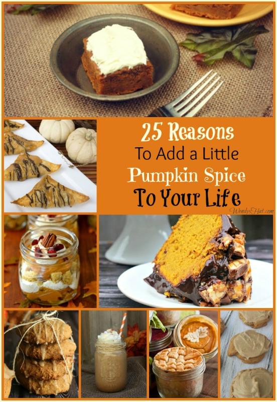 25+ AMAZING Pumpkin Spice Recipes