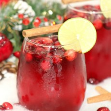 Hot Cranberry Punch
