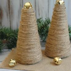 Twine Christmas Trees