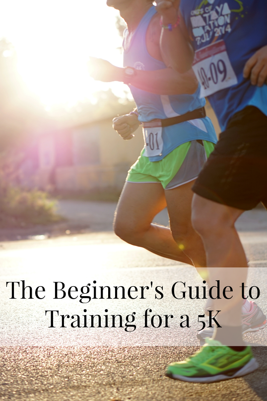 The Beginner's Guide to Training for a 5K that is simple enough for anyone to follow.