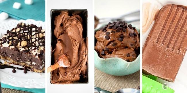 Homemade Chocolate Ice Cream Recipe