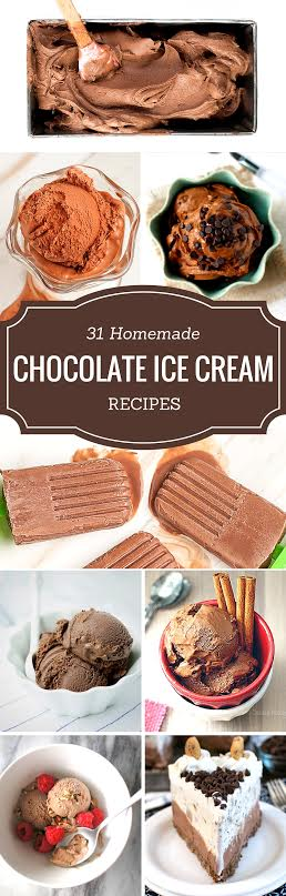31 Homemade Chocolate Ice Cream Recipes